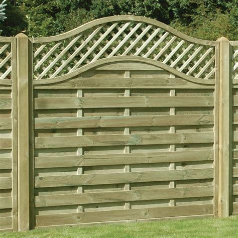 omega lattice trellis fence panel pressure treated