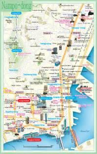 Busan Korea Map