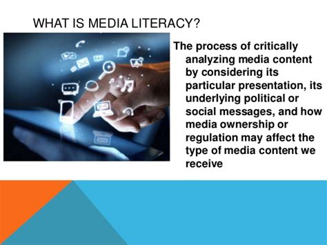 Chapter 2  Media Literacy In The Digital Age