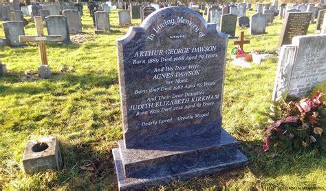 arthur headstone