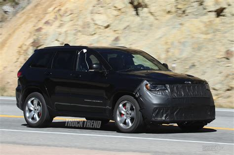 spied  jeep grand cherokee srt trackhawk underbody images