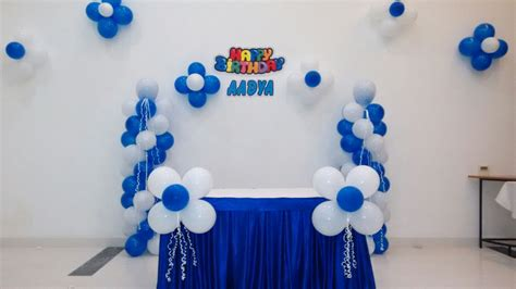 basic balloon decorations hiibangalorecom