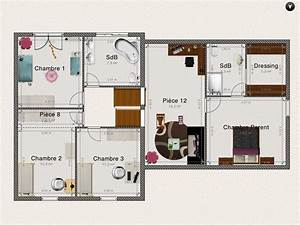 plan et amenagement interieur de notre demi niveau 32 With nice plan maison demi etage 0 plan maison 2 etages moderne