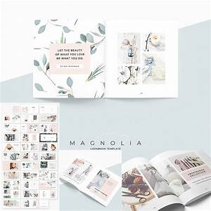 Indesign Presentation Template Free Magnolia Lookbook Template Free Download