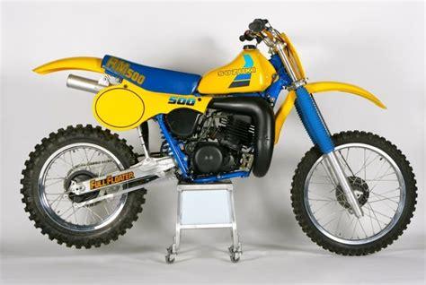 Suzuki Rm 500 by Suzuki Rm 500 1984 Classic Motocross
