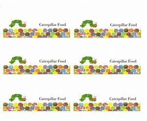 Caterpillar Food Labels