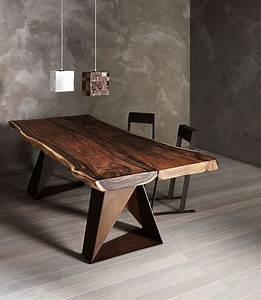 Rustikale Esstische Holz : pi di 25 fantastiche idee su esstisch holz massiv su ~ Michelbontemps.com Haus und Dekorationen