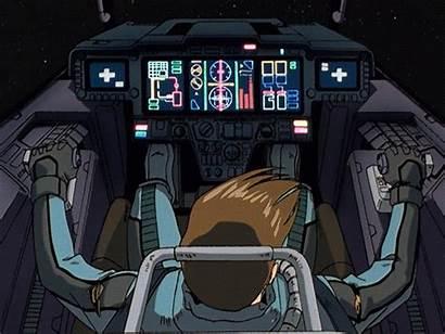 Robot Cockpit Gundam Gifs Concept Sci Fiction