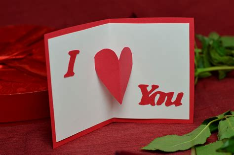 make a s day card top 10 ideas for valentine s day cards creative pop up cards