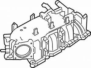 Lincoln Mkt Engine Intake Manifold