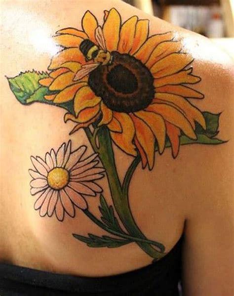 sunflower tattoo  unique  mysterious tattoos