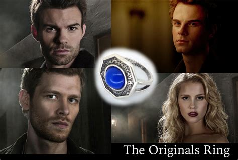 The Originals Mikaelson Family Daylight Ring - Canvas Warriors
