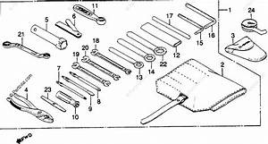 Honda Motorcycle 1982 Oem Parts Diagram For Tools