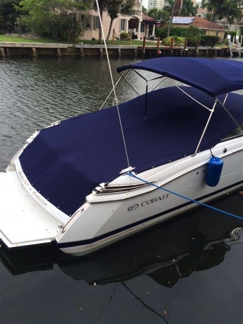 Boat Canvas Florida by Blue Canvas Boat Exterior Boca Canvas