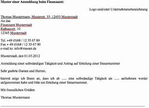 Formlose Rechnung : anmeldung beim finanzamt als freiberufler mit muster ~ Themetempest.com Abrechnung