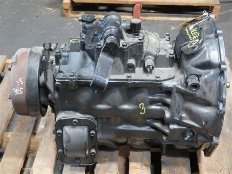 Mitsubishi Fuso Fh 5 Speed Manual Transmission With Pto