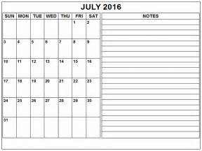 Printable 2016 Blank Weekly Calendars Templates