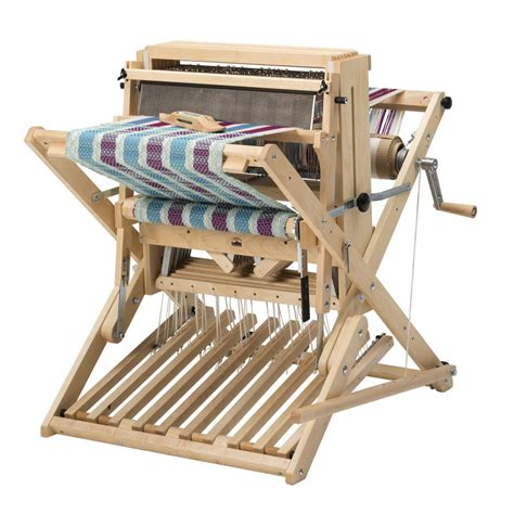 Wire Harnes Weaving by Schacht Wolf Pup Lt Looms Pacific Wool And Fiber