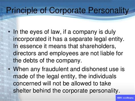 lifting veil corporate law akash company carbonyl compounds principle
