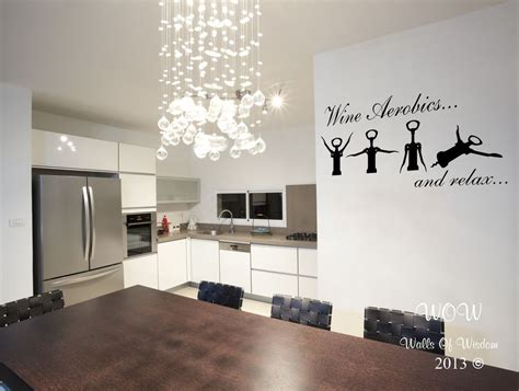 deco stickers cuisine wine wall sticker wall decal home