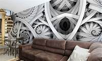 excellent abstract wall mural WALLPAPER MURAL PHOTO Black abstract GIANT WALL DECOR ...