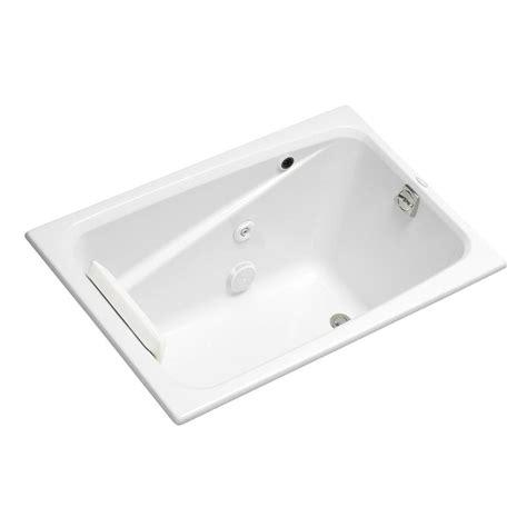 4ft Bathtubs Home Depot by Kohler 4 Ft Acrylic Rectangular Drop In Non