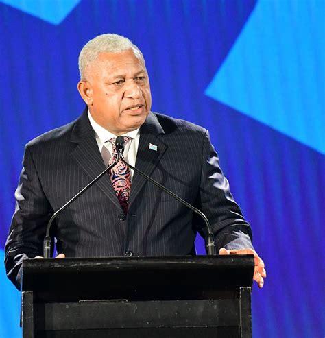 rim pacific pm fiji prime minister voreqe bainimarama