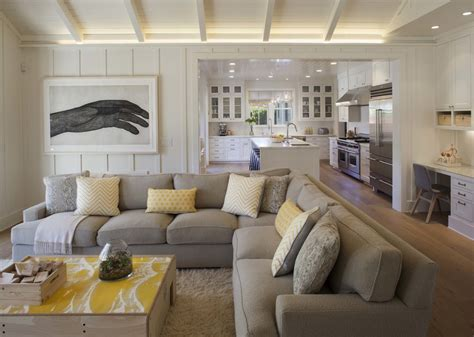 farmhouse family room spaces modern organic interiors Modern