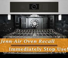 jennair double oven recall stop  immediately