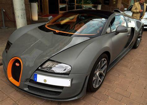 Matte Grey Bugatti Veyron Vitesse Spotted In Germany
