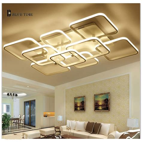 Led Lights For Room Aliexpress by New Rectangle Remote Living Room Bed Room Light