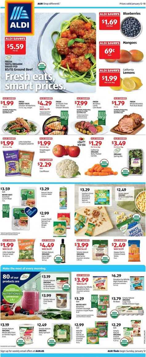 ALDI Weekly Sale NY valid from Jan 12 - 18, 2020.
