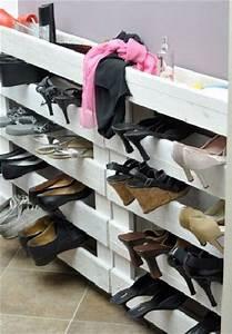 Rangement à Chaussures : 10 rangements pour chaussures faire soi m me ~ Teatrodelosmanantiales.com Idées de Décoration
