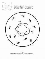 Donut Coloring Pages Printable Donuts Sheets Sweet Sara Silly Crafting Reality Entitlementtrap sketch template