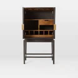 Bone Inlaid Bar Cabinet   west elm