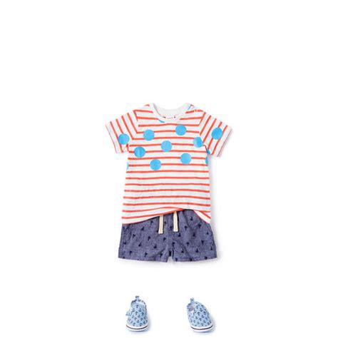 Stripe Tees V45 000 spotty stripe