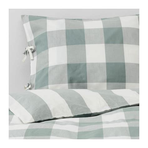 ikea white duvet ikea emmie ruta duvet cover pillowcases set green