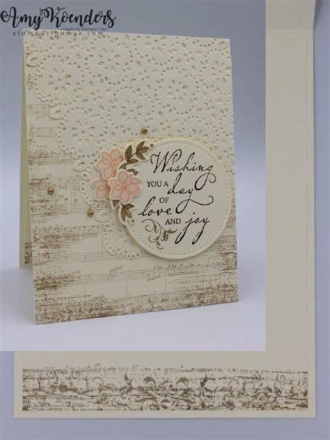 stampin  woven heirlooms sneak peek embossed cards