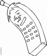 Phone Coloring Cell Phones Drawing Getdrawings Blackberry Printable Popular Coloringhome Getcolorings sketch template