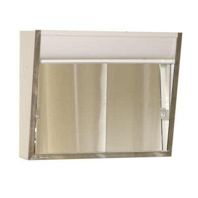 lighted medicine cabinet home depot zenith premium lighted sliding door 24 in x 20 in