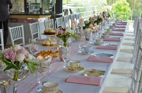 tea party table settings ideas baby shower tea party table setting afternoon tea