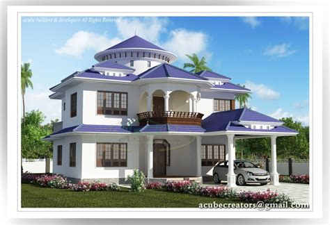 The Home Design App :  Two Storey Kerala House Designs