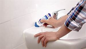 Enlever Joint Silicone Salle De Bain : nettoyer joint silicone salle de bain fabulous comment ~ Premium-room.com Idées de Décoration