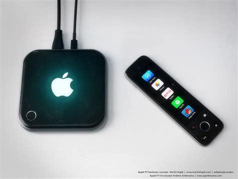 concept shows  sleeker apple tv    touchscreen toting remote redmond pie