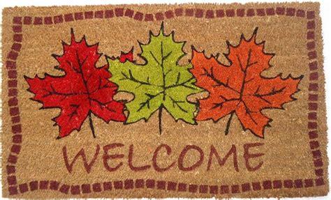 Autumn Doormat autumn maple leaves doormat coco mats coir mats coco