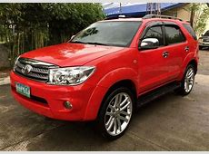 PreOwned Toyota Fortuner G 2007 Diesel AT 2011 Look