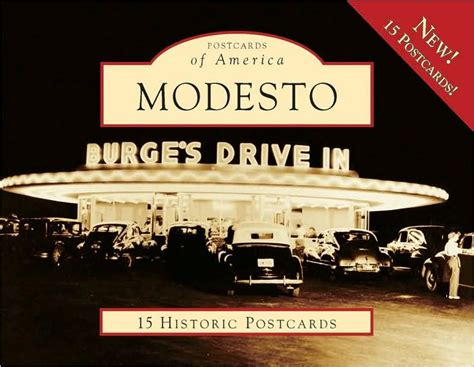 barnes and noble modesto modesto postcard packet series by carl p baggese