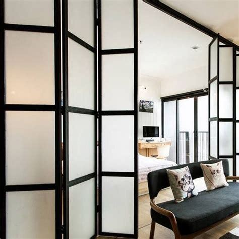 Small Space Room Dividers  Doors  Pinterest Small