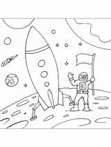 Moon Coloring Pages Printable Mycoloring Bright sketch template