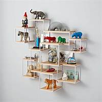 shelves for wall Network Wall Shelf | The Land of Nod